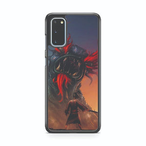 Samurai Jack Vs Aku Alternative Art Samsung Galaxy S20 Phone Case