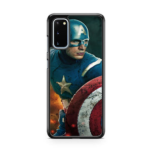 The Avengers Captain America Samsung Galaxy S20 Phone Case