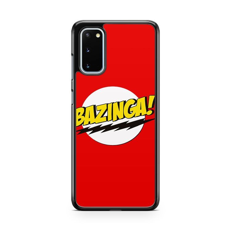 The Big Bang Bazinga Samsung Galaxy S20 Phone Case