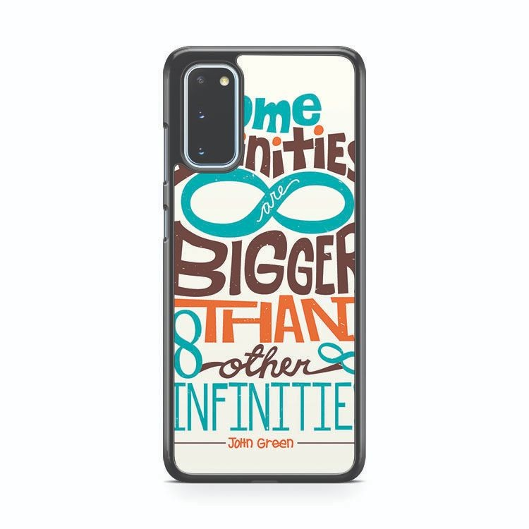 The Fault In Our Stars Quotes Samsung Galaxy S20 Phone Case