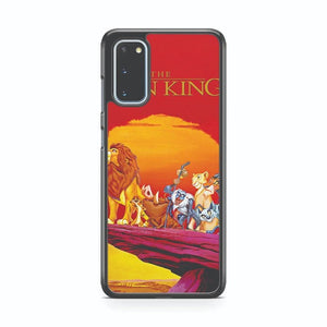 The Lion King Walt Disney Characters Samsung Galaxy S20 Phone Case