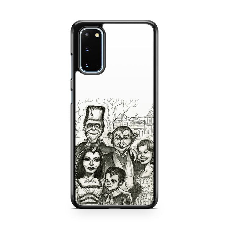 The Munsters Caricature Samsung Galaxy S20 Phone Case