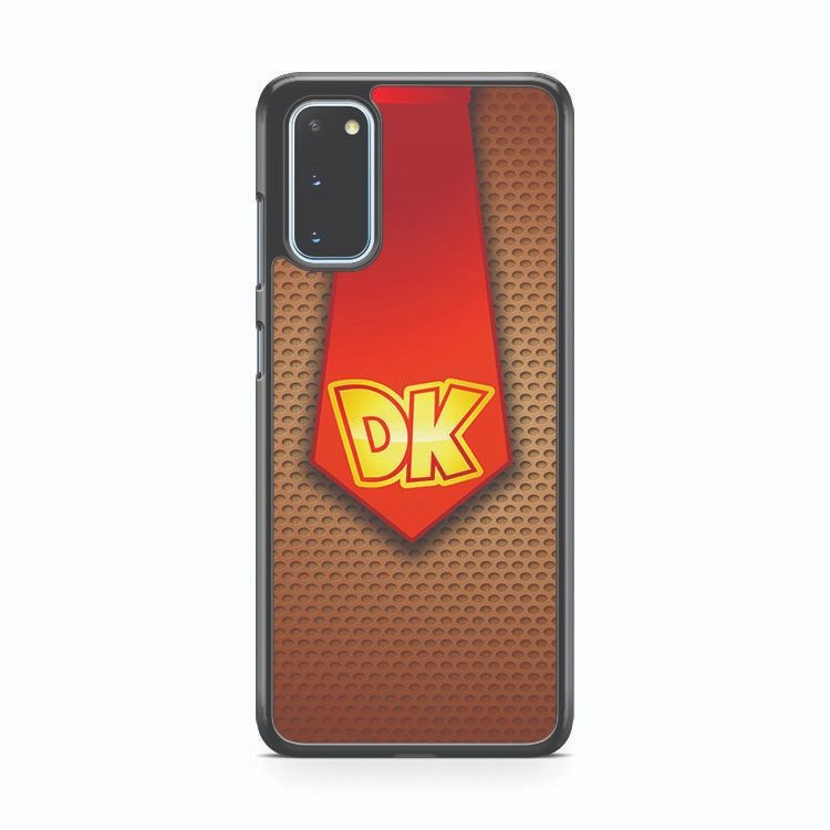 Tie Donkey Kong Samsung Galaxy S20 Phone Case