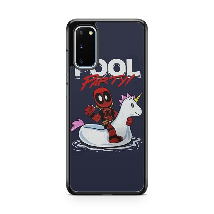 Marvel Comics Deadpool Pool Party Samsung Galaxy S20 Phone Case