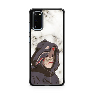 Bape Shark Anbu White Marble Samsung Galaxy S20 Phone Case