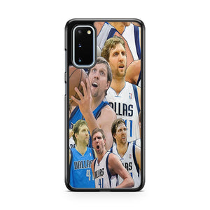 Dirk Nowitzki Dallas Mavericks Rookie Basketball Samsung Galaxy S20 Phone Case