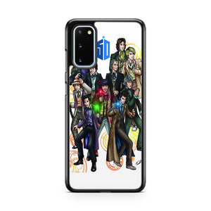 Doctor Who D Samsung Galaxy S20 Phone Case
