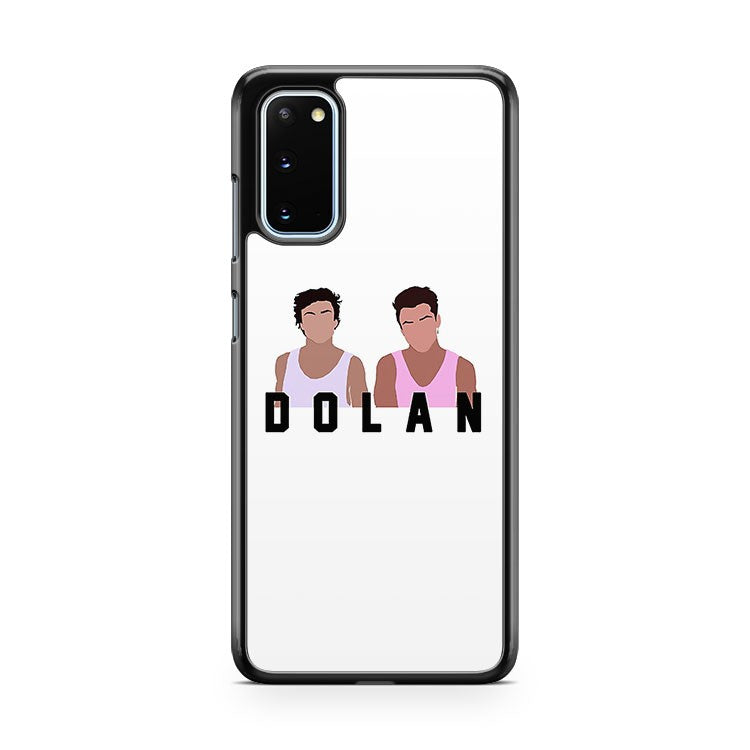 Dolan Twins Cartoon Ethan Grayson Youtuber Vine Muna601 Samsung Galaxy S20 Phone Case