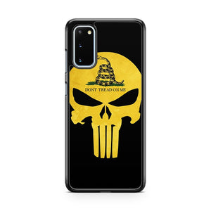 Don't Tread On Me Yellow Punisher Samsung Galaxy S20 Phone Case