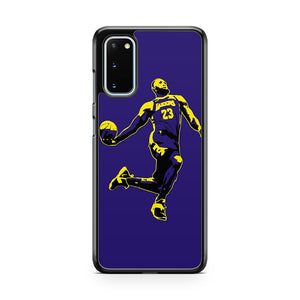 Los Angeles Lakers Lebron James Samsung Galaxy S20 Phone Case