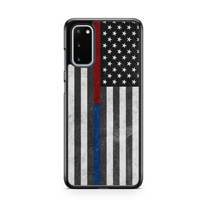 Police Firefighter Flag Samsung Galaxy S20 Phone Case