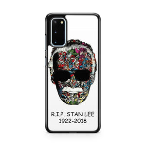 Rip Stan Lee Comic Collage Art 2 Samsung Galaxy S20 Phone Case
