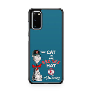 The Cat In The Red Sox Hat Dr Seuss Samsung Galaxy S20 Phone Case