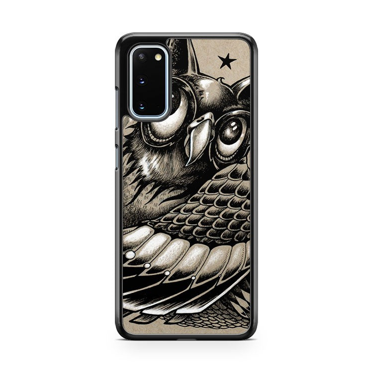 Decorative Owl Samsung Galaxy S20 Phone Case