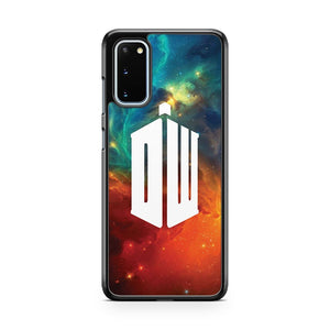 Doctor Who Logo Galaxy Samsung Galaxy S20 Phone Case