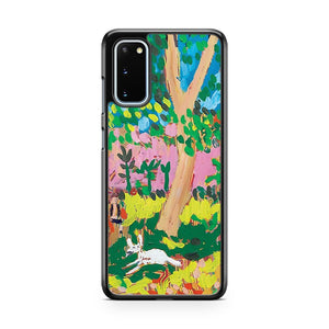 Dog Day In The Park Samsung Galaxy S20 Phone Case
