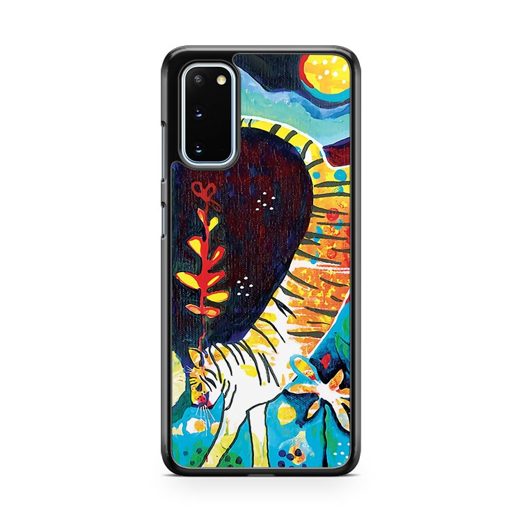 Leaping Tiger Samsung Galaxy S20 Phone Case