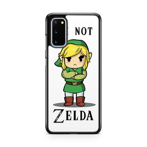 Legend Of Zelda I M Not Zelda Samsung Galaxy S20 Phone Case