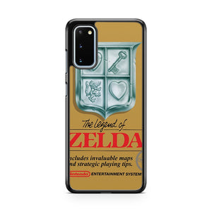 Legend Of Zelda Retro Poster Samsung Galaxy S20 Phone Case