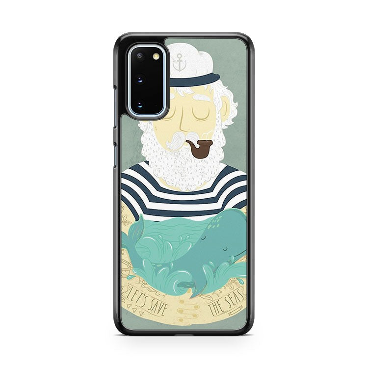 Let's Save The Seas Samsung Galaxy S20 Phone Case