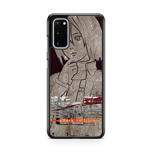 M I K A's A Attack On Titan Samsung Galaxy S20 Phone Case