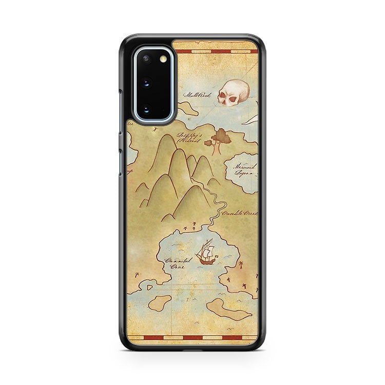 Map Of Neverland Samsung Galaxy S20 Phone Case