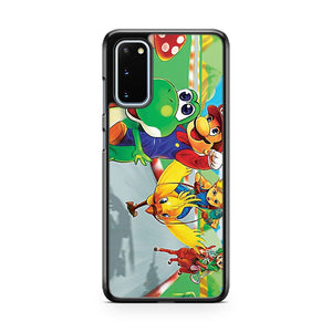 Mario Racing Samsung Galaxy S20 Phone Case