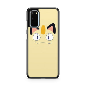 Meowth Minimalist Samsung Galaxy S20 Phone Case