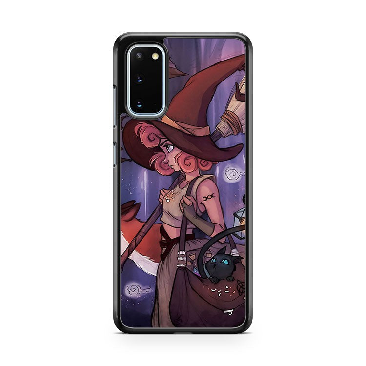 Midnight Witch Samsung Galaxy S20 Phone Case