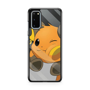 Pokemon In Glass Samsung Galaxy S20 Phone Case