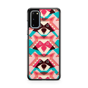 Raccoons And Hearts Samsung Galaxy S20 Phone Case