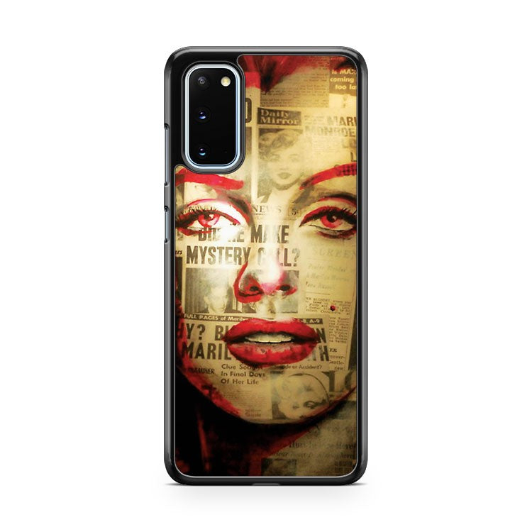 Red Marilyn Samsung Galaxy S20 Phone Case