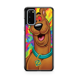 Scooby Doo Tripping Out Samsung Galaxy S20 Phone Case