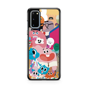 The Amazing World Of Gumball Characters Minimalist Samsung Galaxy S20 Phone Case
