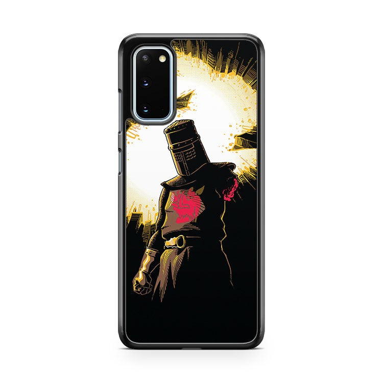 The Black Knight Rises Samsung Galaxy S20 Phone Case