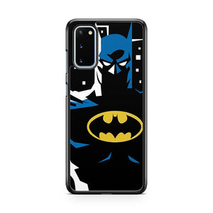 The Dark Knight Minimalist Black Samsung Galaxy S20 Phone Case