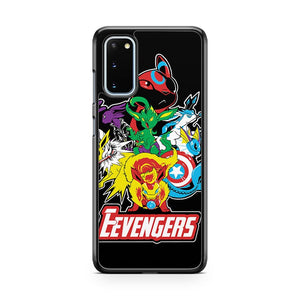 The Eevegers Samsung Galaxy S20 Phone Case
