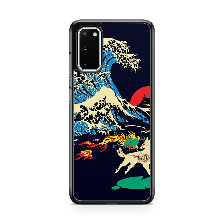 The Great Wave Off Oni Island Samsung Galaxy S20 Phone Case