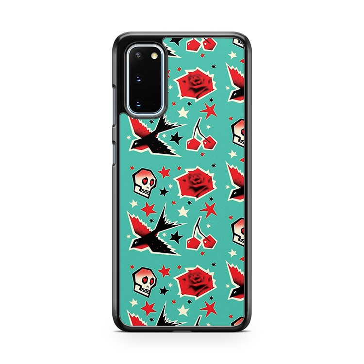 The Swallow Cherry Samsung Galaxy S20 Phone Case