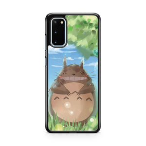 Tonari No Totoro Paint Samsung Galaxy S20 Phone Case