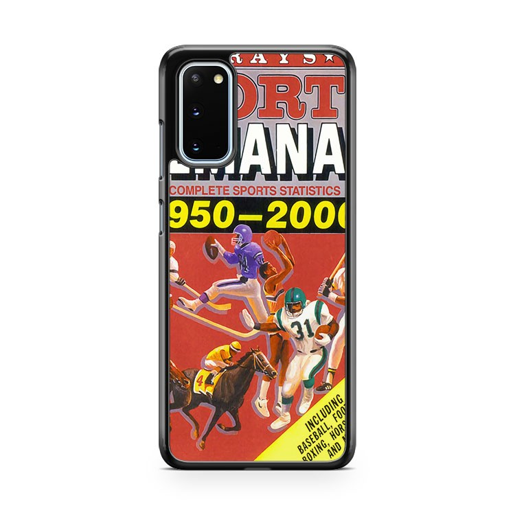 Back To The Future Sports Almanac Samsung Galaxy S20 Phone Case