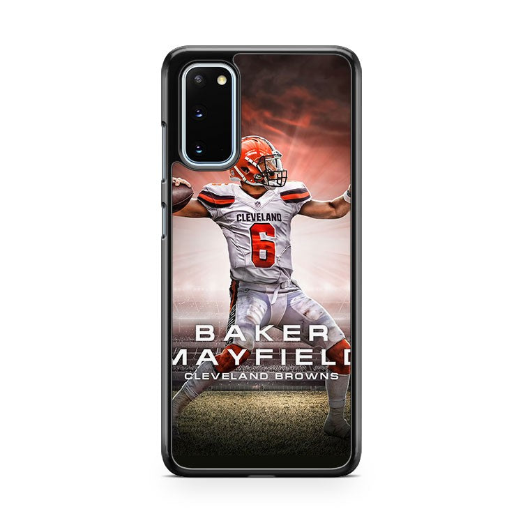 Baker Mayfield Cleveland Browns 2 Samsung Galaxy S20 Phone Case