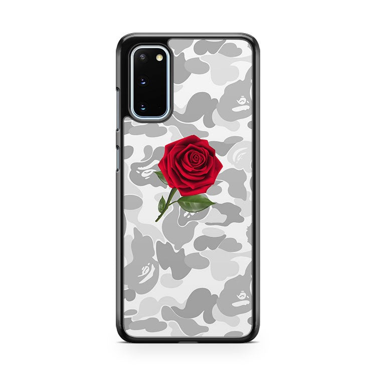 Bape Camouflage Rose Samsung Galaxy S20 Phone Case