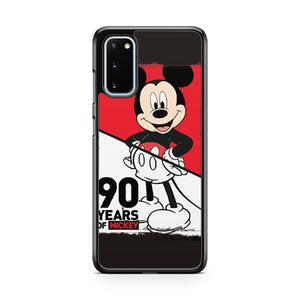 Disney Mickey Mouse 90Th Anniversary Samsung Galaxy S20 Phone Case