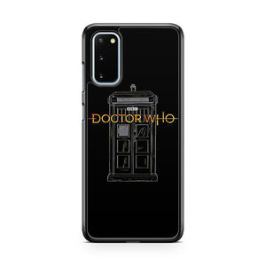Doctor Who Tardis New Logo Samsung Galaxy S20 Phone Case