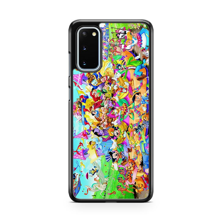 Many Disney Characters Samsung Galaxy S20 Phone Case