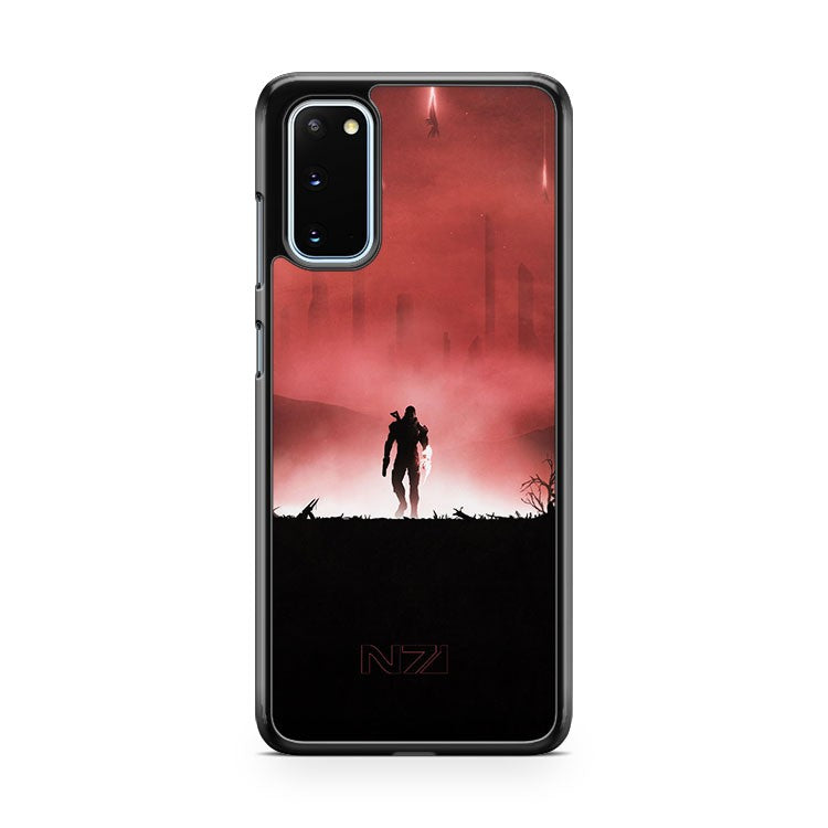 Mass Effect Poster Samsung Galaxy S20 Phone Case