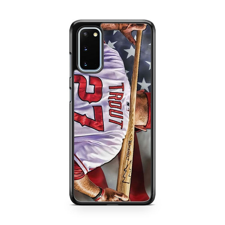 Mike Trout Los Angels Anaheim Samsung Galaxy S20 Phone Case