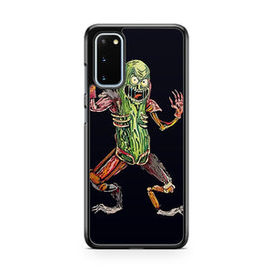 Rick And Morty Pickle Rick Art Samsung Galaxy S20 Phone Case