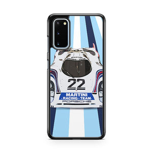 The Porsche Museum Martini Racing Samsung Galaxy S20 Phone Case